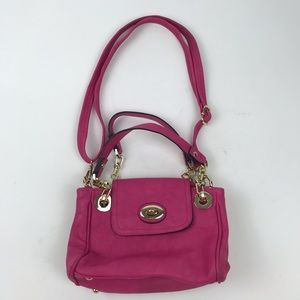 Charming Charlie Small Pink Shoulder Bag Purse